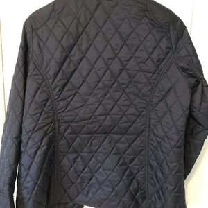Coldwater Creek Jackets & Coats - Coldwater Creek Navy Blue quilted jacket